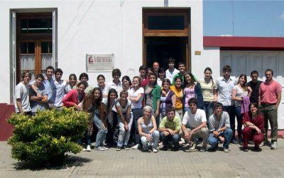 Visita de los alumnos de la Escuela Agrotécnica Salesiana de Del Valle