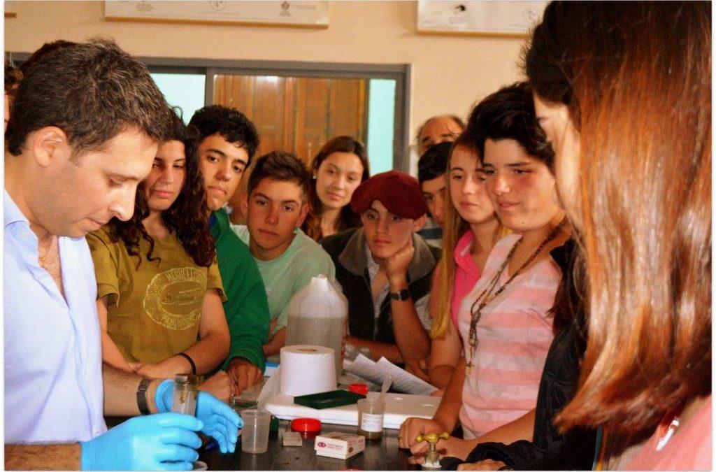 Nuevamente visitamos la Escuela Agrotécnica Salesiana