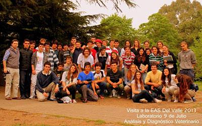 Visita a la Escuela Agrotécnica Salesiana